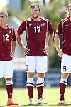 31 August 2014: Elon's Myles Mansfield. The Elon University Phoenix played the Loyola Marymount University Lions at Koskinen Stadium in Durham, North Carolina in a 2014 NCAA Division I Men's Soccer match. Elon won the game 1-0.