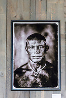 Quiksilver Board Riders, Torquay, Victoria, Australia (Thursday, March 24 2016): <br /> The opening of the The Big Wave Riders of Hawaii Collodion Wet Plate Portraits by Bernard Testemale exhibition happened tonight at the Bar 61. Hosted by Peter Mel (USA) big wave riders Ross Clarke Jones (AUS) and Tom Carroll (AUS) lead a discussion about the recent Eddie Aikau big wave event and answered questions from the audience.<br /> Photo: joliphotos.com