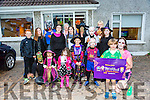Ronan Harrington O'Callaghan and mom Caroline Harrington from meadowland est Tralee held a Halloween fundraiser for temple street on Monday  Ronan has been going  goes to the hospital for treatment