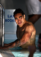 Ma'a Nonu. Rugby - All Blacks pool session at Freyberg Pool, Oriental Parade, Wellington on Monday 12 July 2010. Photo: Dave Lintott/lintottphoto.co.nz.