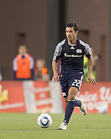 New England Revolution midfielder Benny Feilhaber (22). In a Major League Soccer (MLS) match, the Los Angeles Galaxy defeated the New England Revolution, 1-0, at Gillette Stadium on May 28, 2011.