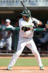 28 May 2016: Cal Poly Pomona's Jared James. The Cal Poly Pomona Broncos played the Southern Indiana Eagles in Game 2 of the 2016 NCAA Division II College World Series  at Coleman Field at the USA Baseball National Training Complex in Cary, North Carolina. Cal Poly Pomona won the game 2-1 in ten innings.