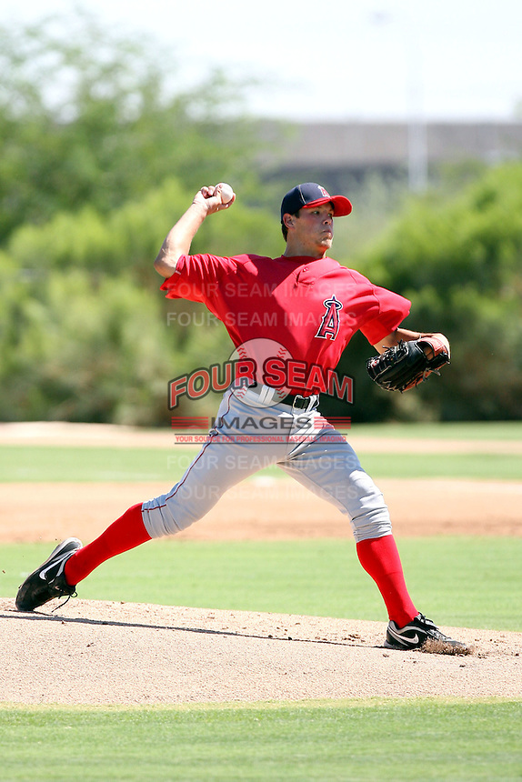 Heath Nichols - Los Angeles Angels - 2010 Instructional League.Photo by:  Bill Mitchell/Four Seam Images..
