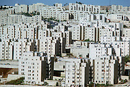 Jerusalem, Israel, November, 1980. Armon Hanaziv, new complex, south of Jerusalem.