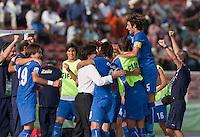 Italy. Italy defeated the US Under-17 Men's National Team 2-1 in Kaduna, Nigera on November 4th, 2009.