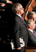 United States Representative Barney Frank (Democrat of Massachusetts) watches the proceedings of the opening of the 112th Congress from the floor of the U.S. House of Representatives in the Capitol in Washington, D.C. on Wednesday, January 5, 2011..Credit: Ron Sachs / CNP.(RESTRICTION: NO New York or New Jersey Newspapers or newspapers within a 75 mile radius of New York City)