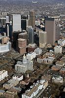 aerial photograph State Capitol Building, Denver, Colorado