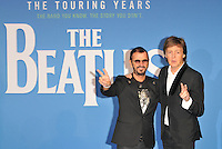 Ringo Starr and Sir Paul McCartney at the &quot;The Beatles Eight Days A Week: The Touring Years&quot; world film premiere, Odeon Leicester Square cinema, Leicester Square, London, England, UK, on Thursday 15 September 2016.<br /> CAP/CAN<br /> &copy;CAN/Capital Pictures /MediaPunch ***NORTH AND SOUTH AMERICAS ONLY***