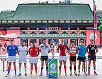 IRB Junior World Rugby Trophy 2014 Hong Kong - Captains Photo Call