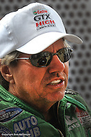 TOPEKA, KS - JUNE 1: Funny Car driver John Force at the OReilly NHRA Summer Nationals on June 1, 2008, at Heartland Park Topeka near Topeka, Kansas.
