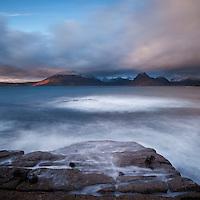 Scenic coastal view, Elgol, Isle of Skye, Scotland