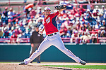 13 March 2014: Washington Nationals pitcher Tyler Clippard on the mound during a Spring Training game against the New York Mets at Space Coast Stadium in Viera, Florida. The Mets defeated the Nationals 7-5 in Grapefruit League play. Mandatory Credit: Ed Wolfstein Photo *** RAW (NEF) Image File Available ***