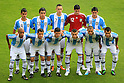 U-17 Argetina team group line-up (ARG), JUNE 24th, 2011 - Football : 2011 FIFA U-17 World Cup Mexico Group B match between Japan 3-1 Argentina at Estadio Morelos in Morelia, Mexico. (Photo by MEXSPORT/AFLO).