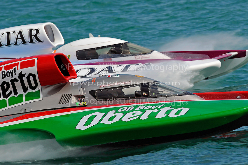 "Steve David, U-1 ""Oh Boy! Oberto"" and David Villwock, U-96 ""Spirit of Qatar"""