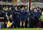 121108 Motherwell v Rangers