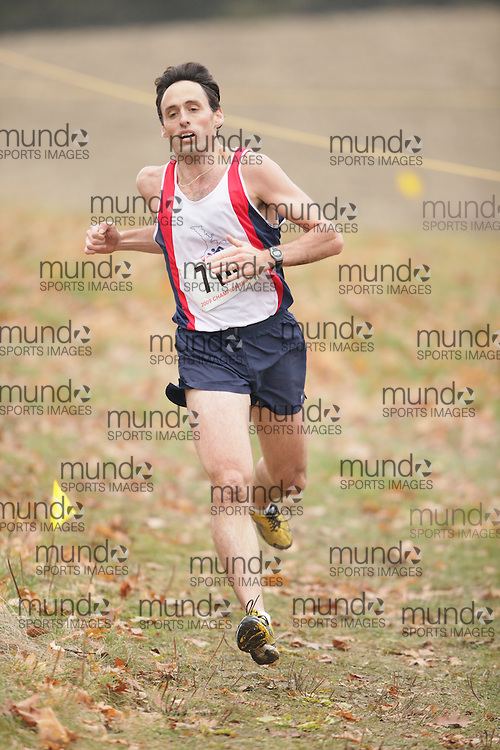 King City, Ontario ---09-11-15--- Athletes compete in the Athletics Ontario Cross Country Championships in King City, Ontario, November 16, 2009..GEOFF ROBINS Mundo Sport Images