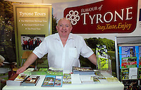 James Walshe Chief Tour Guide from Tyrone Tours The Holiday World Show RDS Simmonscourt which runs from Friday 25th- Sunday 27th Jan. Celebrating its 24th year the show will attract 50,000 people over the course of the three days. Expos from all over the world including Cuba, Abu Dhabi and real life eagles can all been seen. Collins Photos 25/1/13