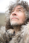 Wayne Coyne poses for a portrait backstage at the Sasquatch Music Festival