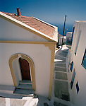 House on Nisyros island, Dodecanese, Greece