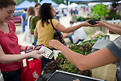 Carrboro Farmer's Market takes cards.