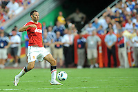 Ryan Giggs...Kansas City Wizards defeated Manchester United 2-1 in an international friendly at Arrowhead Stadium, Kansas City, Missouri.