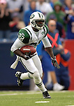 24 September 2006: New York Jets cornerback Justin Miller returns a kickoff against the Buffalo Bills at Ralph Wilson Stadium in Orchard Park, NY. The Jets defeated the Bills 28-20. Mandatory Photo Credit: Ed Wolfstein Photo