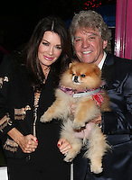 LOS ANGELES, CA - March 01: Lisa Vanderpump, Ken Todd, At The Opening of The New Vanderpump Dogs Rescue Center At The Vanderpump Dogs Rescue Center In California on March 01, 2017. Credit: Faye Sadou/MediaPunch