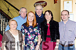 Saoirse Ní Bhriain, Millstreet celebrated her 18th birthday with her family in Lord Kenmares restaurant on Saturday night l-r: Mary Murray, Con Murray, Denis Fitzpatrick, Helen Murray and Niall Murray