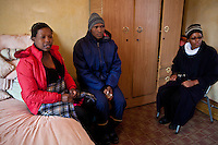 13 May 2011, Teyateyaneng, Berea District, Lesotho. mothers2mothers is an organisation that functions within the existing healthcare system, that train and employ mothers with HIV to educate and support their peers. Lebohang Malopo is the co-ordinator based at the local hospital.