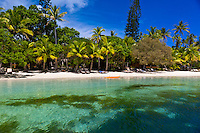 Oure Tera Beach Resort, Bay of Kanumera, Ile des Pins (Isle of Pines), New Caledonia