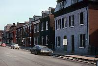 St. Louis: Soulard Neighborhood--8th St., South of Market. Photo '77.