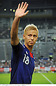 Keisuke Honda (JPN),AUGUST 10, 2011 - Football / Soccer :Keisuke Honda of Japan waves to fans after the Kirin Challenge Cup 2011 match between Japan 3-0 South Korea at Sapporo Dome in Sapporo, Hokkaido, Japan. (Photo by Takamoto Tokuhara/AFLO)
