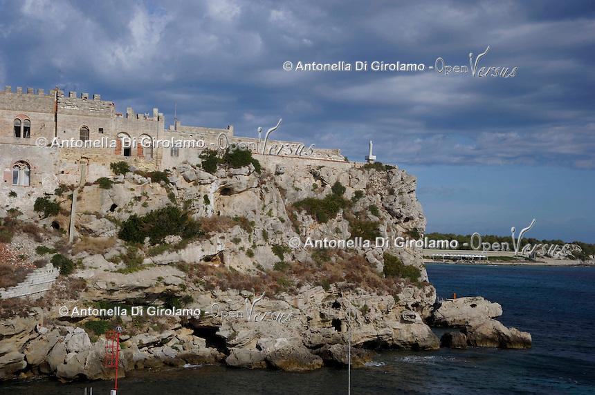 Isola di Pianosa.Pianosa Island.Pianosa. Il borgo.Village.Il Forte Teglia. The Teglia Fort.