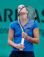 Jarmila Groth (AUS) against Yaroslava Shvedova (KAZ) in the third round of the wome's singles.  Yarosalva Shvedova beat Jarmila Groth 6-4 6-3..Tennis - French Open - Day 9 - Mon 31 May 2010 - Roland Garros - Paris - France..© FREY - AMN Images, 1st Floor, Barry House, 20-22 Worple Road, London. SW19 4DH - Tel: +44 (0) 208 947 0117 - contact@advantagemedianet.com - www.photoshelter.com/c/amnimages