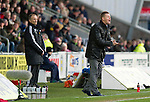 St Mirren v St Johnstone.....02.02.13      Scottish Cup.Steve Lomas tries to get his players going.Picture by Graeme Hart..Copyright Perthshire Picture Agency.Tel: 01738 623350  Mobile: 07990 594431