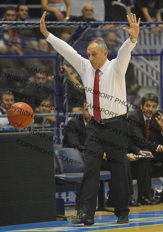 Kosarka Euroleague season 2012-2013.Partizan Vs. Besiktas Istanbul.Head coach Erman Kunter.Beograd, 15.11.2012..foto: Srdjan Stevanovic/Starsportphoto ©