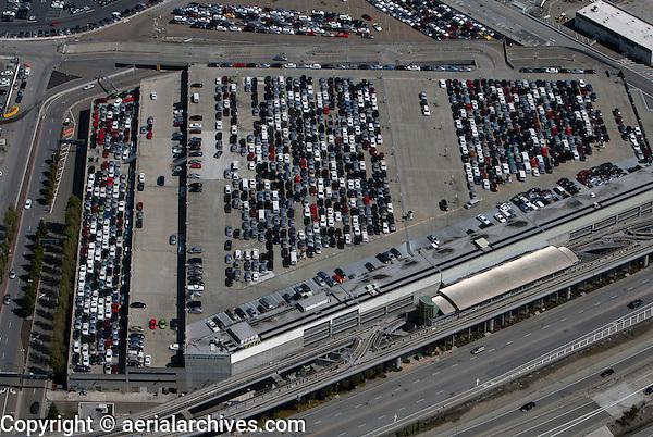 aerial photograph san francisco international airport sfo rental car center aerial archives. Black Bedroom Furniture Sets. Home Design Ideas
