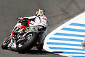 July 23, 2010 - Laguna Seca, USA - LCR Honda  team's American rider, Roger Lee Hayden, takes a curve during a free practice prior to the U.S. Grand Prix held on July 25, 2010. (Photo Andrew Northcott/Nippon News).