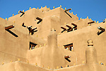 North America, USA, New Mexico, Santa Fe. Adobe Inn at Loretto 2