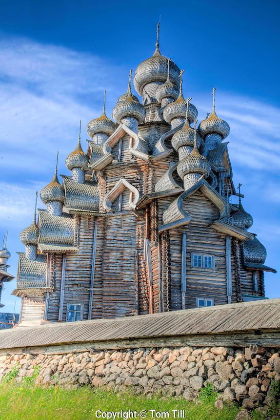 Church of the Transfiguration, Kizhi Island, Russian Federation, Lake Onega, Built 1714, UNESCO World Heritage Site