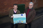 Local MP Alun Cairns and the local Cllr for Dinas Powys, Christopher P. Franks at the switch on of BT Fibre Broadband in Dinas Powys.<br /> 19.02.14<br /> <br /> &copy;Steve Pope-FOTOWALES