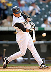 10 September 2006: Ryan Spilborghs, outfielder for the Colorado Rockies, in action against the Washington Nationals. The Rockies defeated the Nationals 13-9 at Coors Field in Denver, Colorado...Mandatory Photo Credit: Ed Wolfstein.
