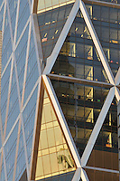 Hearst Magazine Building, Windows, designed by Sir Norman Foster, Manhattan, New York City, NY