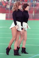 Ottawa Rough Riders Cheerleaders 1984. Photo F. Scott Grant