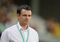 FUSSBALL INTERNATIONAL Laenderspiel Freundschaftsspiel U 21   Deutschland - Frankreich     13.08.2013 Trainer Willi Sagnol(Frankreich)