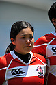 Azusa Yama (JPN), .MAY 19, 2012 - Rugby : Woman's Rugby Test match between Japan women's 61-15 Hong Kong women's at Chichibunomiya Rugby Stadium, Tokyo, Japan. (Photo by Jun Tsukida/AFLO SPORT)