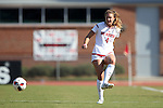 15 October 2016: NC State's Hannah Keogh. The North Carolina State University Wolfpack hosted the Florida State University Seminoles at Dail Soccer Field in Raleigh, North Carolina in a 2016 NCAA Division I Women's Soccer match. FSU won the game 1-0.