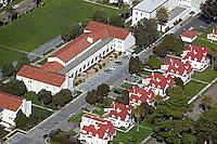 aerial photograph buildings Presidio of San Francisco