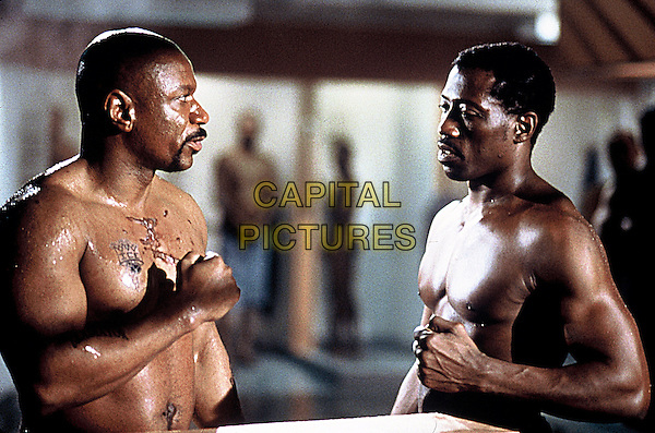 Ving Rhames & Wesley Snipes.in Undisputed.*Filmstill - Editorial Use Only*.CAP/NFS.Supplied by Capital Pictures.