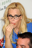 Jenny McCarthy at 2013 National Ravioli Day Pasta Eating Contest - New York